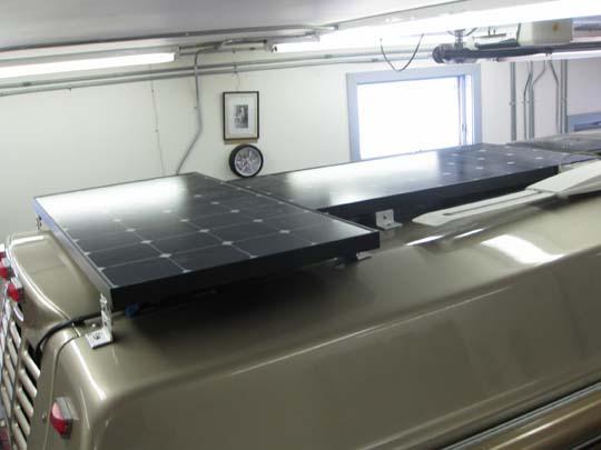 200 watts solar on 07 C190P Roadtrek - Class B Forums
