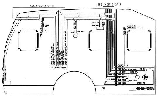 roadtrek 200 electrical schematics & diagrams - class b forums fire alarm systems wiring diagrams #8