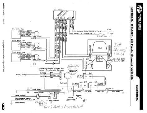 roadtrek wiring diagram roadtrek wiring diagram roadtrek 200 electrical schematics & diagrams - class b forums
