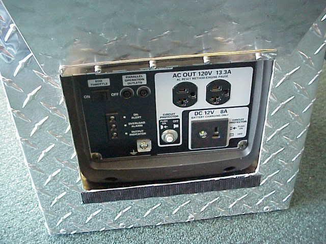 Honda generator quiet box