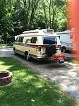 7/27/18 - First time at a campground - It had only been boon docking since 2010 when I bought it.