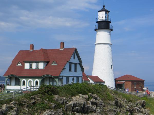 August 2018 Bar Harbor Light House