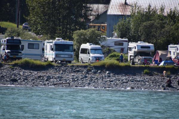 Camping in Valdez, AK