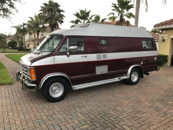 1989 Dodge Ram van/Xplorer conversion