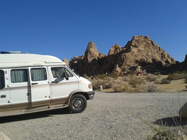 Indian Cove cg. Joshua Tree National park.view from campsite Memorial day 2015