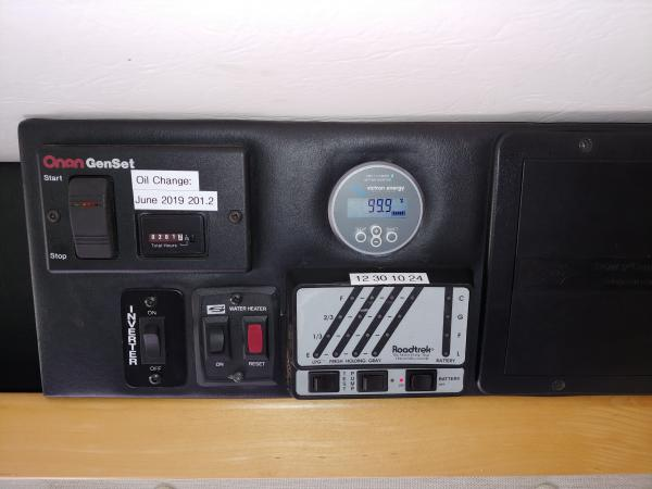 Victrol Control Module mounted in RT Control Center