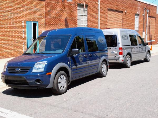 Ford Transit Connects in Alexandria, VA.