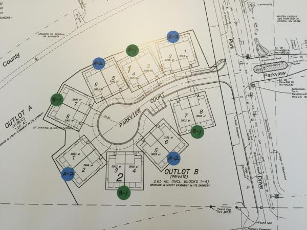 Reserve on the Park Site Plan Layout