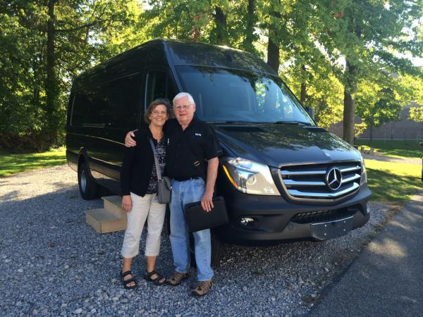 Our Unfinished Cargo Van we named Alvar