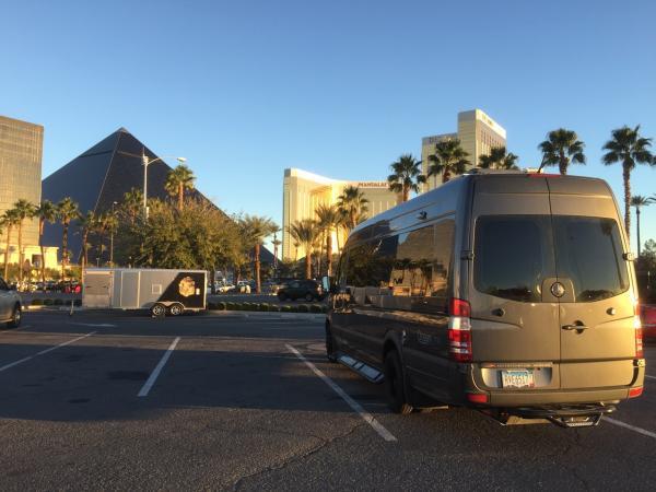 Alvar Boondocking on the Las Vegas Strip