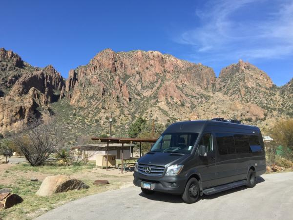 Big Bend NP Chisos Basin campground