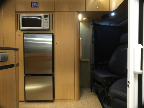Refrigerator and Wardrobe