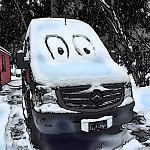 Alvar Snow Cartoon