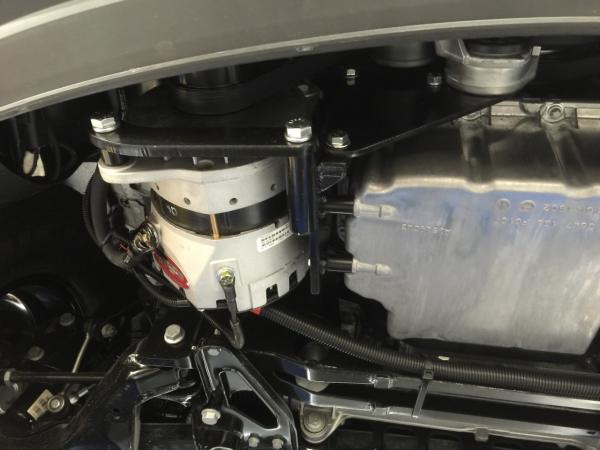Delco Alternator in an Advanced RV