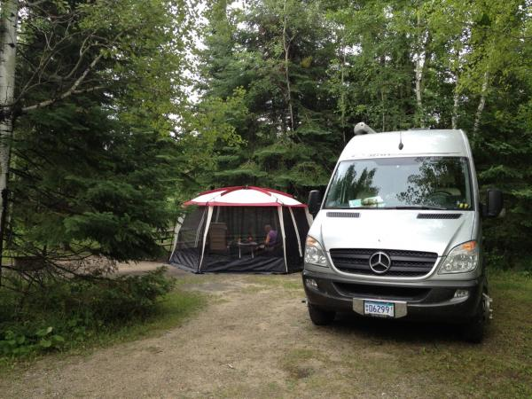 Woodenfrog SF CG with Screen Tent