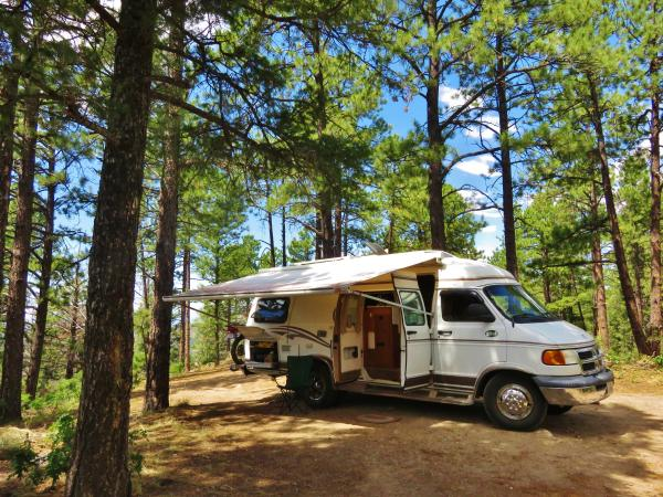 Stuck above Santa Fe for three days off forest road (jeep trail) 404 with boiled brake fluid
