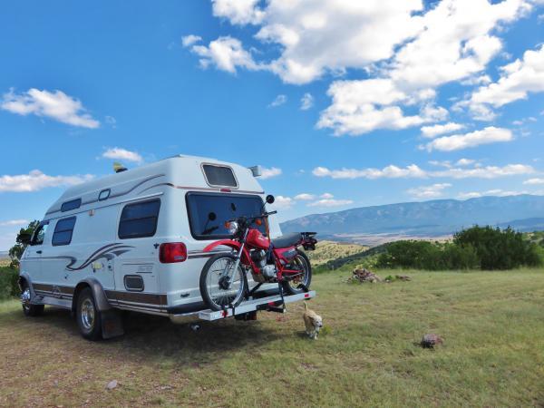 On BLM land near Capitan NM