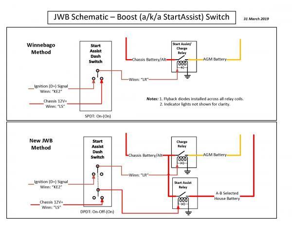 4 JWB Schematic Boost Switch