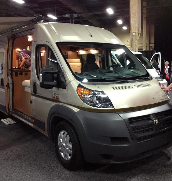 New Ram ProMaster based Winnebago Travato Class B