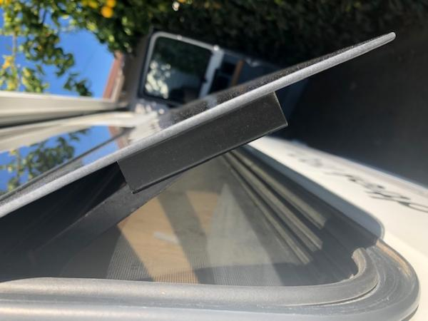 How the window attaches