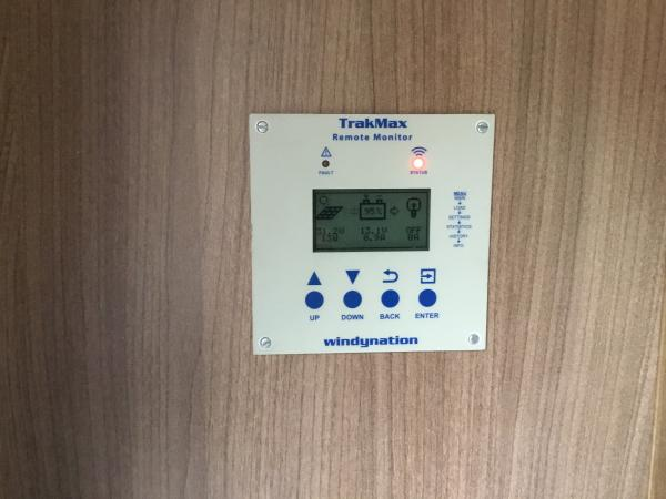 Windy Nation remote for MPPT charge controller