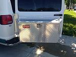 1996 Dodge B3500 rear carrier box