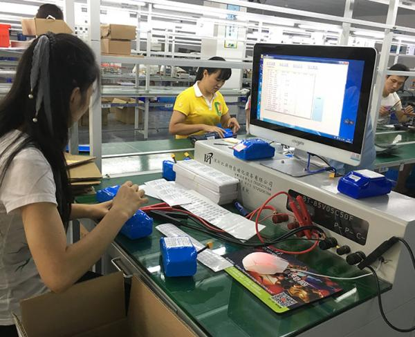 36v 4.4 ah lithium ion battery production
