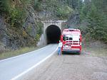 Another RR tunnel on NF-456. These tunnels are part of the old Milwaukee Road and some are on the bicycle only trail known as the Route of the...