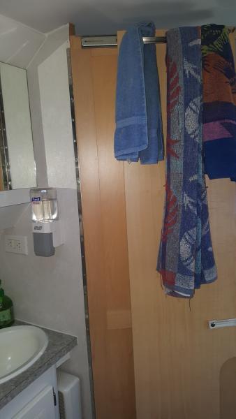 20210615 122037 resized 1 (installed over the door towel rack)