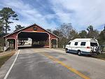 Covered Bridge near Woodlands, Texas.