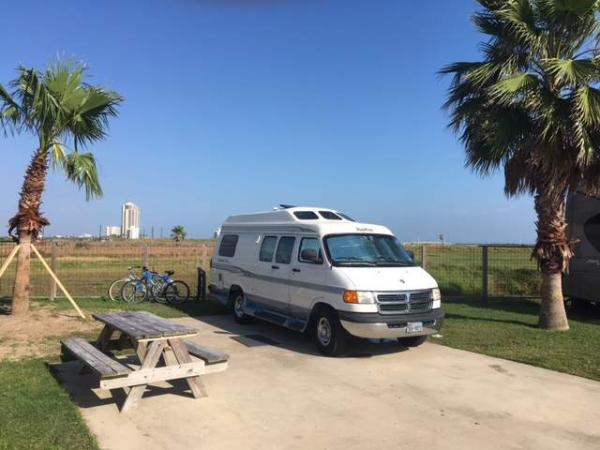 RV Park Galveston, Texas