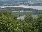 Fort Ticonderoga, Gibraltar of the North.  Oddly, it fell twice when the enemy set up cannons from the viewpoint you see.  Beautiful country, and a...