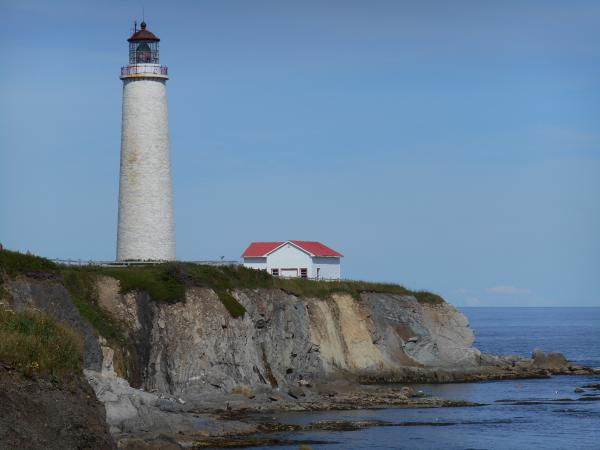 One of the many lighthouses.