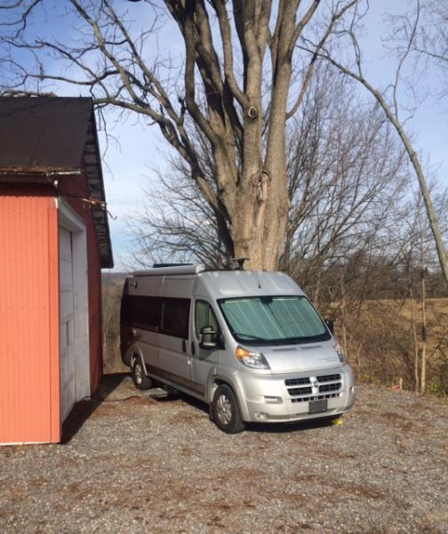 boondocking for Thanksgiving in PA.