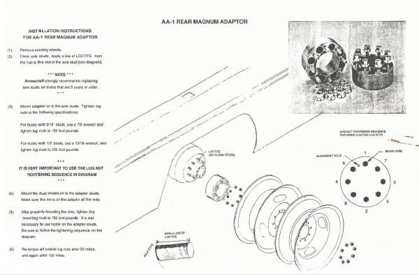 Xplorer 230 xlw rear wheel spacers   2