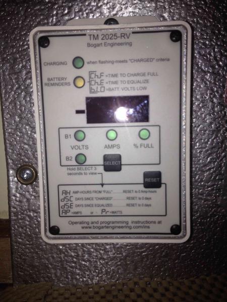 Solar Battery Meter