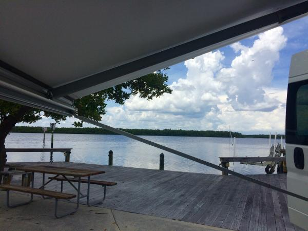 beautiful site on Chokoloskee Island in the Everglades