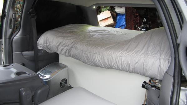 Memory foam twin bed