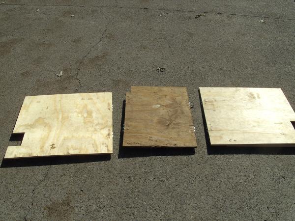 Cab Bed Plywood Base