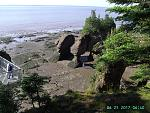 Bay of Fundy Low Tide.
